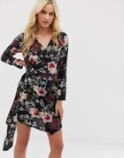 Ax Paris Floral Mini Dress