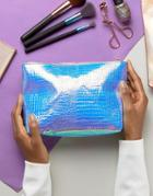 New Look Iridescent Mermaid Makeup Bag - Multi