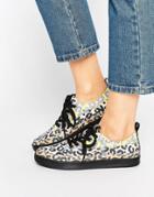 Love Moschino Multi Leopard Sneaker - Multi