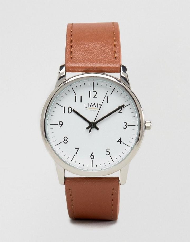 Limit Watch In Tan Exclusive To Asos - Tan