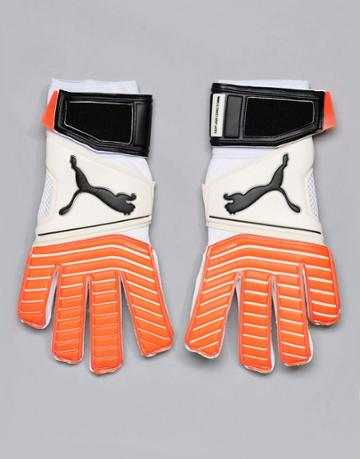 Puma One 17.2 Rc Goal Keeping Gloves In White 04132501 - White