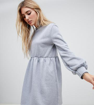 Rokoko Oversized Smock Sweat Dress