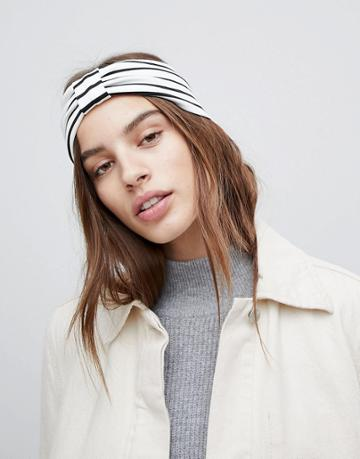 Asos Stripe Headband - Multi