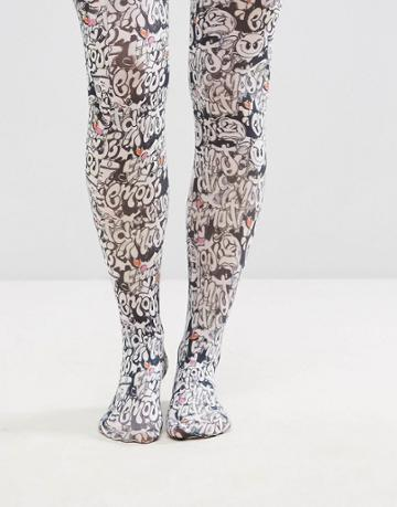 Asos Emoji Printed Tight - Multi