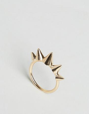 Asos Spike Ring - Gold