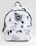 Hype Backpack In Disney Dalmation Print - White