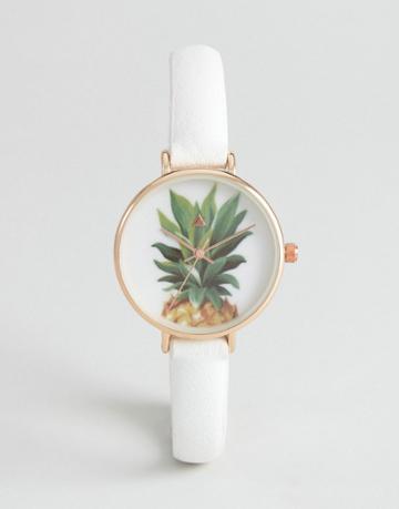 Asos Pineapple Watch - Cream