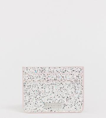 Skinnydip Arctic Glitter Card Holder - Multi