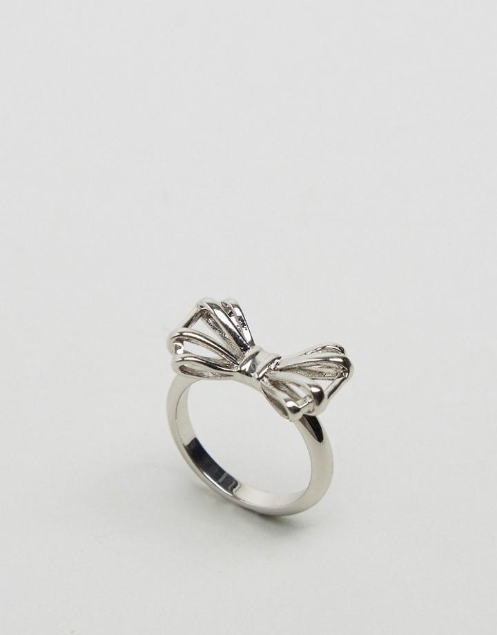 Ted Baker Sigria Sweetie Bow Ring - Silver