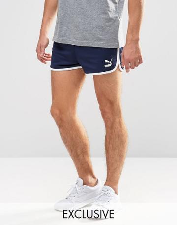 Puma Vintage Shorts Exclusive To Asos - Blue