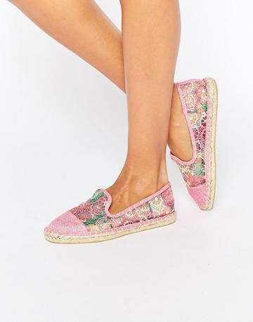Asos Jazzlyn Espadrilles - Pink