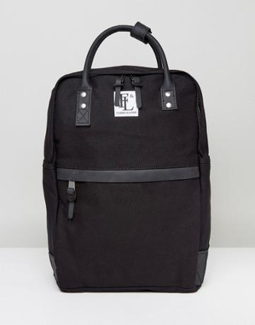 Forbes & Lewis Paddington Backpack In Black - Black