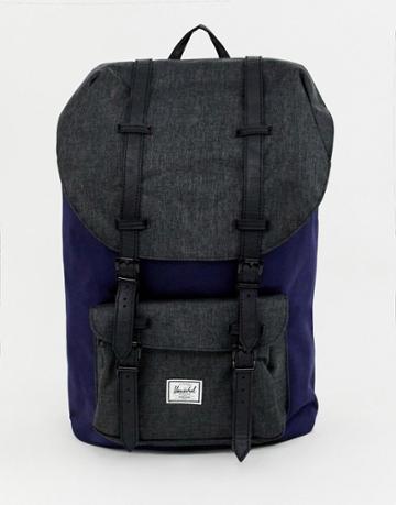 Herschel Supply Co Little America 25l Backpack In Navy - Navy