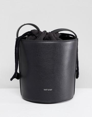 Matt & Nat Bini Structured Bucket Bag - Black