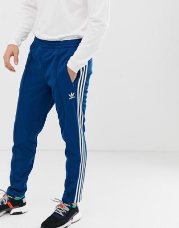 Adidas Originals Beckenbauer Sweatpants In Navy - Blue