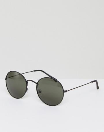 Quay Australia Mod Star Round Sunglasses In Silver - Silver