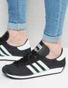 Adidas Originals Country Og Sneakers In Black S32116 - Black