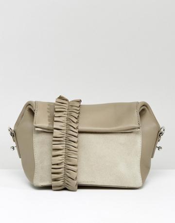 All Saints Maya Crossbody Bag - Gray