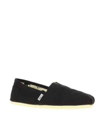 Toms Classic Canvas Flat Shoes