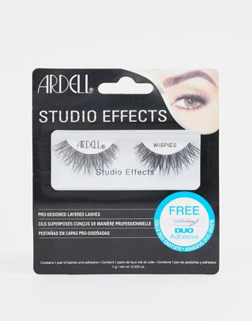 Ardell Lashes Studio Effects Wispies - Black