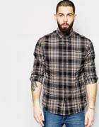 Only & Sons Check Shirt - Gray