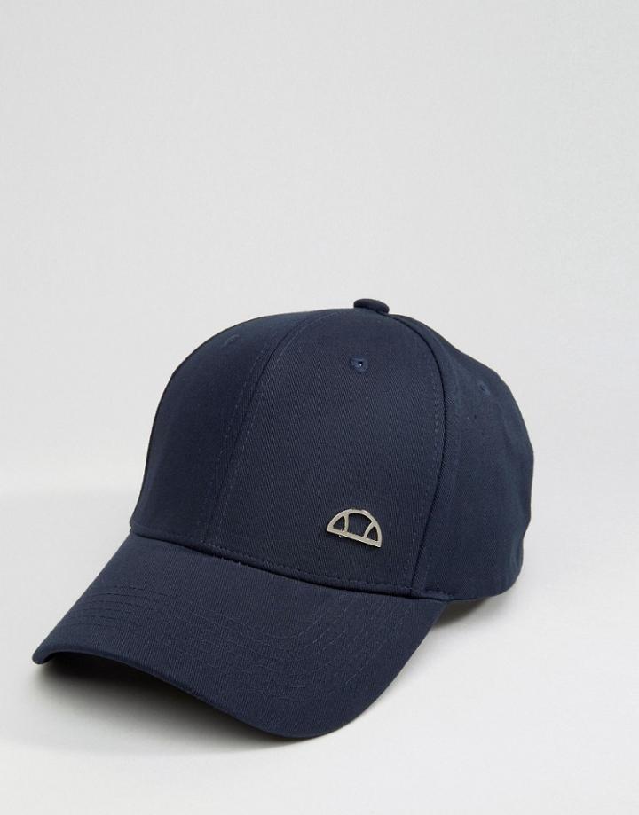 Ellesse Baseball Cap Badge - Navy