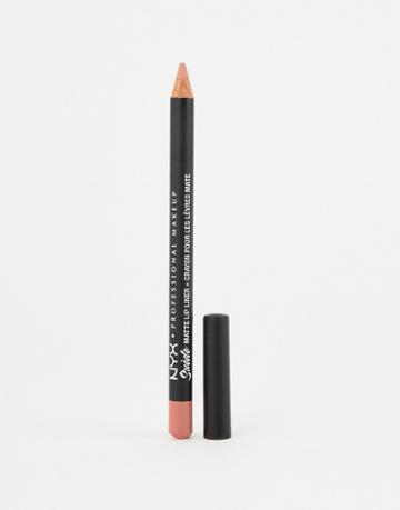 Nyx Professional Makeup Suede Matte Lip Liners - Dainty Daze - Pink