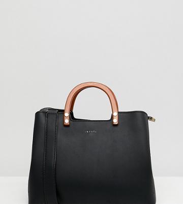 Inyati Inita Top Handle Tote Bag - Black