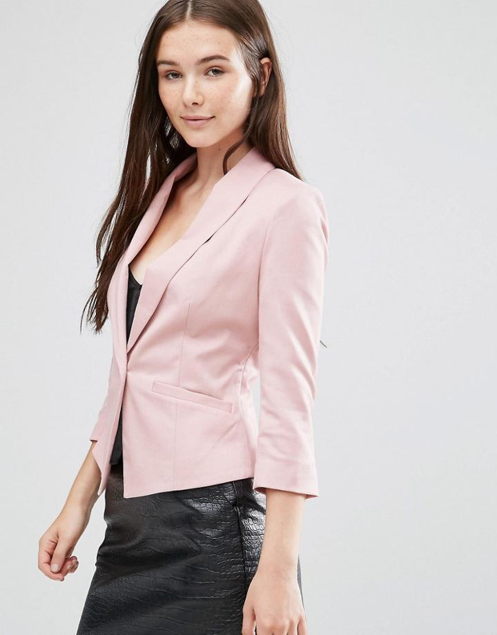 Minimum Evaline Blazer - Pink
