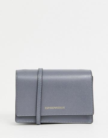Emporio Armani Cross Body Bag - Gray