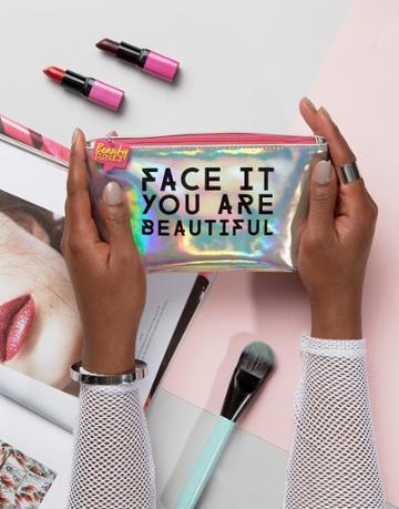 Beauty Junkie Beauty Bag - Clear