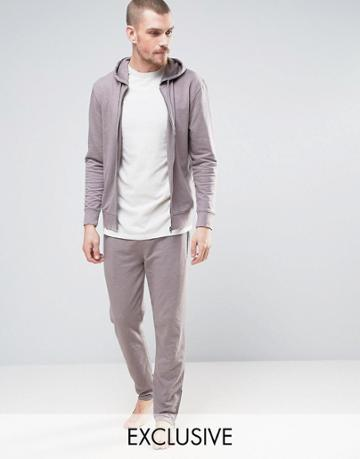 Nocozo Joggers With Cuffed Ankle In Skinny Fit - Beige