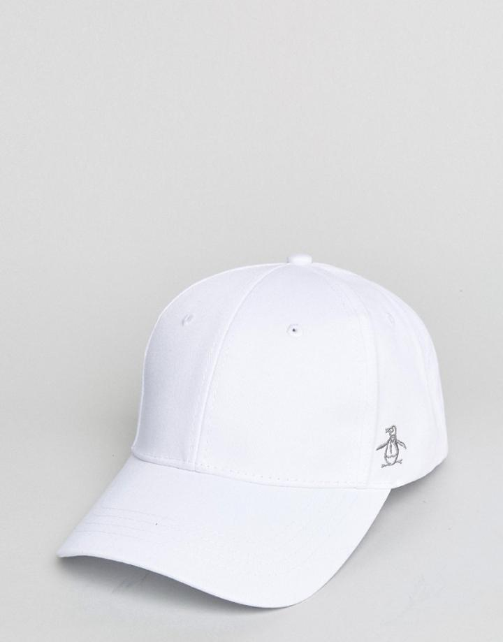 Original Penguin Baseball Cap - White