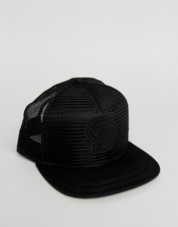 G-star Trucker Cap - Black