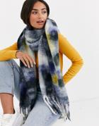 Asos Design Tie Dye Scarf-multi