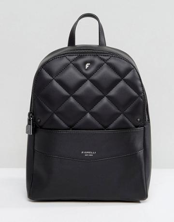 Fiorelli Trenton Quilted Backpack In Black - Black