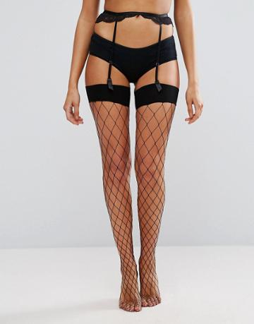 Ann Summers Large Fishnet Stocking - Black