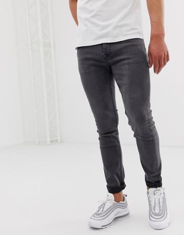 Only & Sons Slim Jeans In Gray - Gray