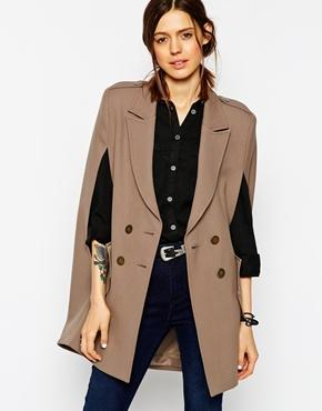 Asos Summer Cape - Taupe