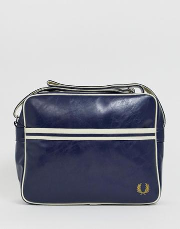 Fred Perry Classic Messenger Bag In Navy - Navy