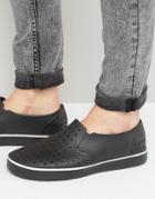 Native Miles Slipon Sneakers - Black