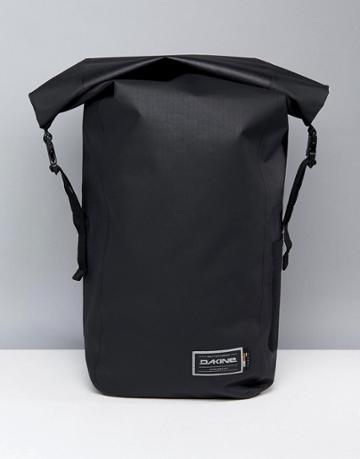 Dakine Cyclone Roll Top Backpack In Waterproof Cordura 32l - Black