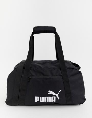 Puma Phase Small Carryall In Black - Black