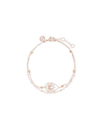 Accessorize Trinity Lotus Friendship Bracelet