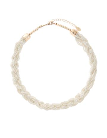 Accessorize Twisted Pearly Necklace