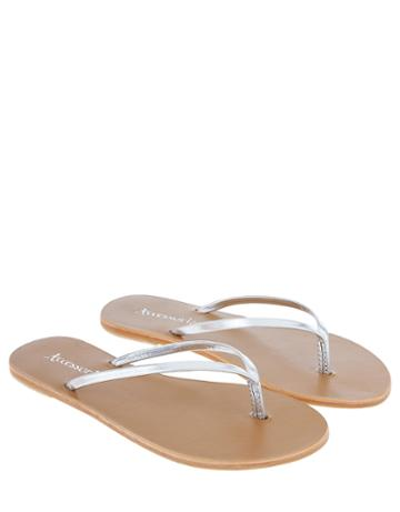 Accessorize Sleek Thong Flip Flops