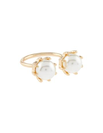 Accessorize Open Pearl Ring