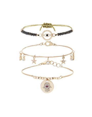 Accessorize Karma Friendship Bracelet Pack