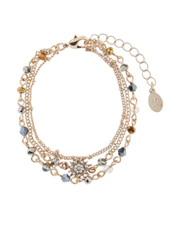 Accessorize Star Layered Bracelet