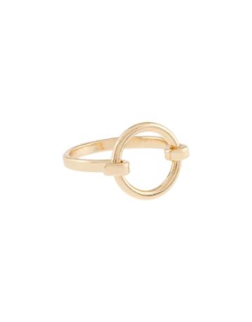 Accessorize Open Catch Circle Ring